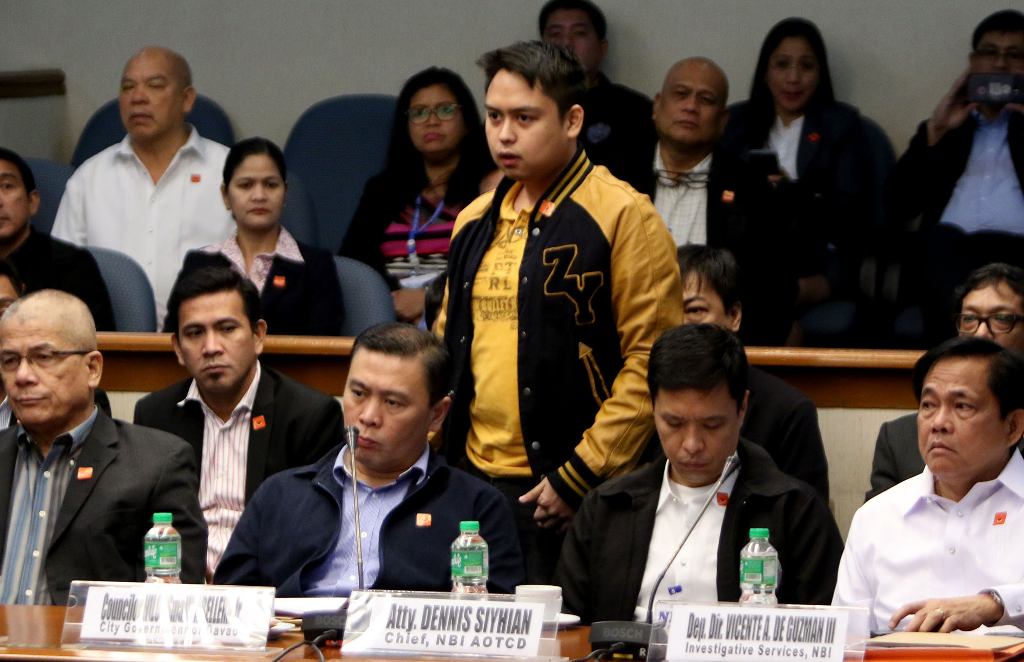 CENTRAL CHARACTER. After 6 Senate and several House hearings, the real identity of Tita Nanie is still unknown. Photo by Inoue Jaena/Rappler