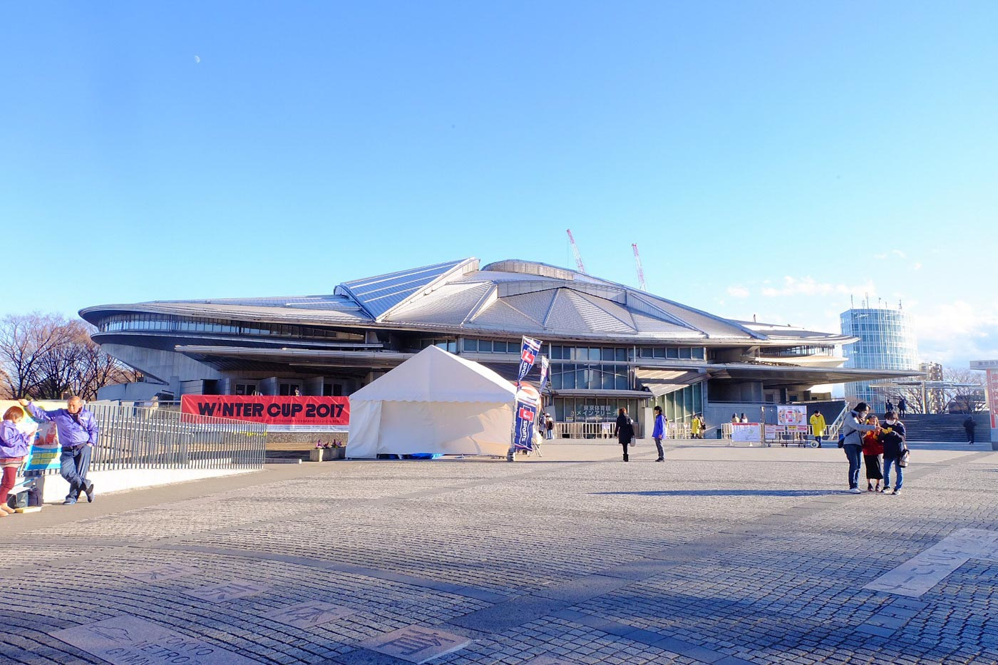 SPORTS-CENTRIC. The Tokyo Metropolitan Gymnasium is famous for holding both national and international sports events.  Photo by Beatrice Go/Rappler