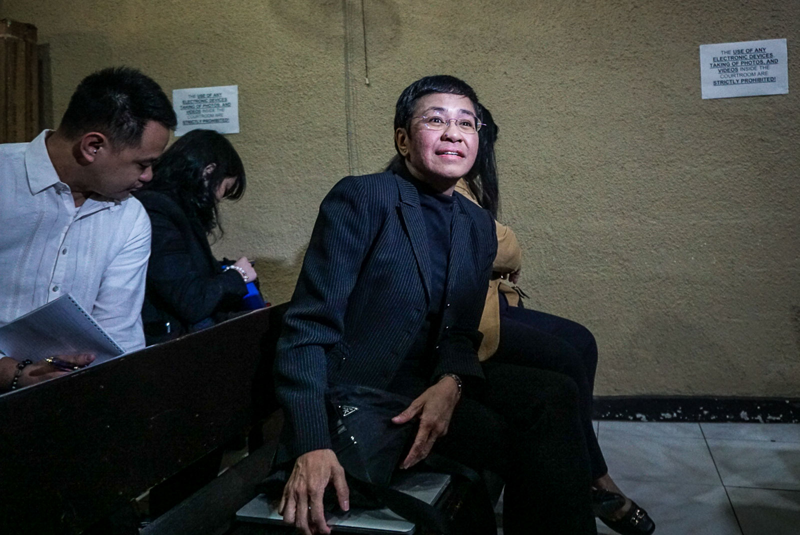 D-DAY. A Manila judge will rule on the cyber libel case on April 3, 2020. File photo by Lito Borras/ Rappler