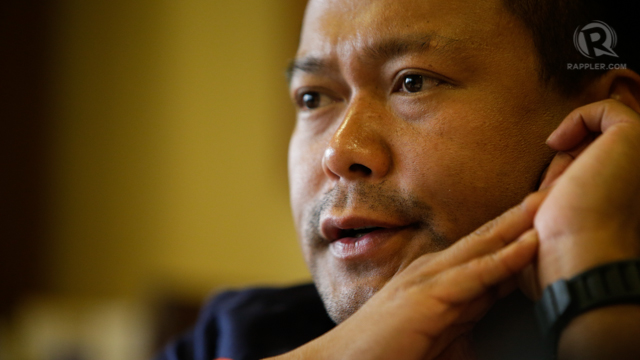 FOURTH ESTRADA. JV Ejercito claims his not insecure despite his father's other families. Photo by Rappler/John Javellana