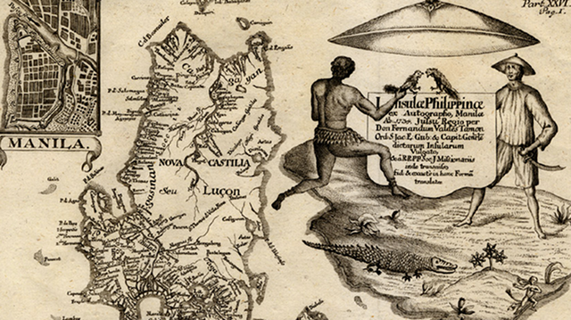 MURILLO MAP. One of the first records of Scarborough Shoal in the Philippines comes from a map by a Jesuit priest. Screen grab from zamboanga.net