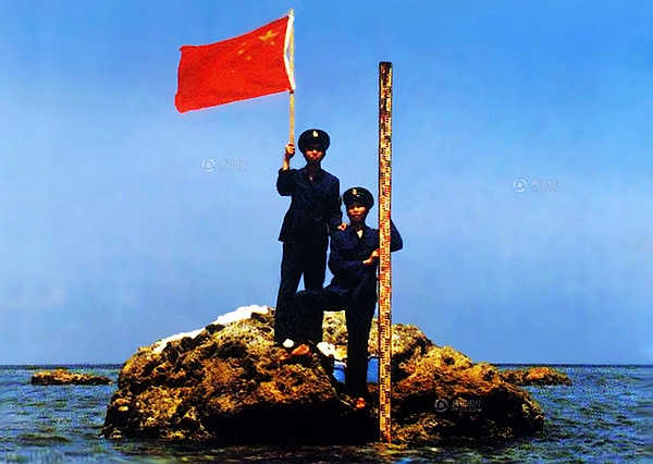 CHINESE PRESENCE. Over the past decades, China has conducted surveys in Scarborough Shoal, which is supposedly proof of its effective occupation of the area. File photo courtesy of the Chinese embassy in the Philippines