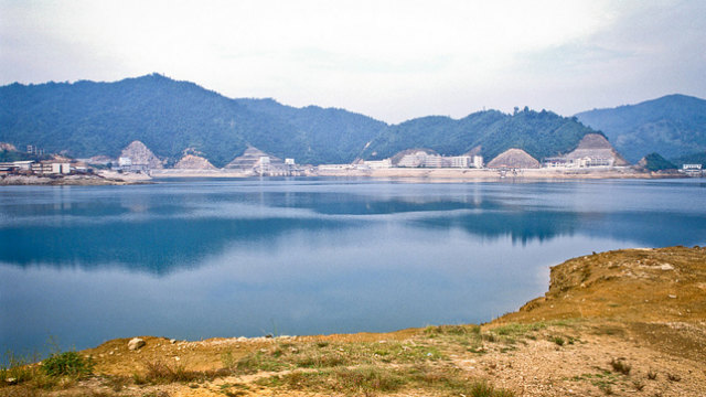 BLUE FUTURE? A view of the Guangzhuo Pumped Storage Stage II in Guangzhou, Guangdong, the People's Republic of China