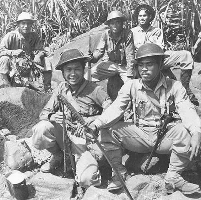A CUT ABOVE. Philippine Scouts managed to pierce the formidable Japanese forces before April 9, 1942