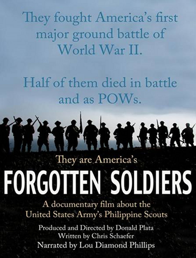 BETTER LATE THAN TOO LATE. u2018Forgotten Soldiersu2019 is a 7-decades-hence documentary about the heroic Filipino fighters in the Battle of Bataan. All images courtesy of the Ortigas Foundation Library