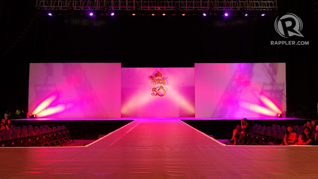 PINK STAGE. A runway fit for beauty queens