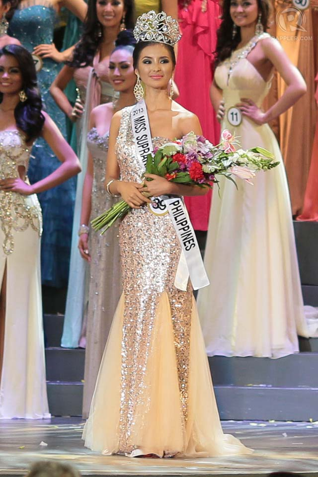 REGAL AND COMPOSED. Mutya Datul after being crowned Bb Pilipinas-Supranational last April 14. Photo by Edric Chen