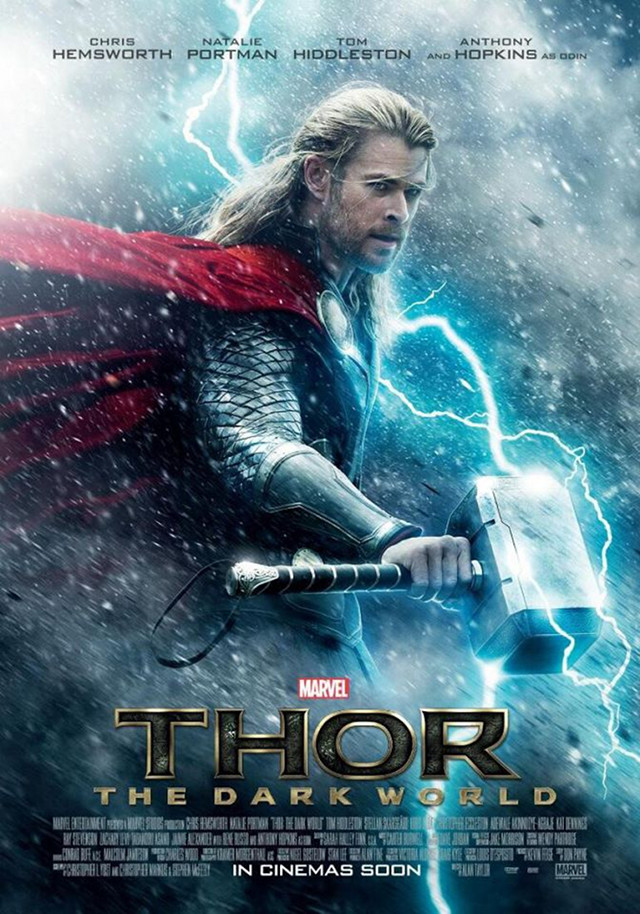 SAME LOVE, NEW FOE. In 'Thor: The Dark World,' Thor must embark on his most perilous and personal journey yet. Poster from the 'Thor: The Dark World' Facebook page