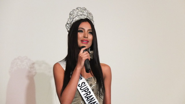 LIFE CHANGING. Bb Pilipinas-Supranational 2013 Mutya Datul says her recent win has changed her life