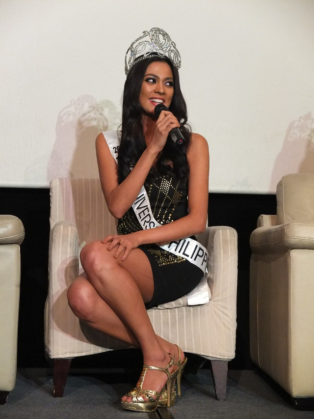 THINK LIKE A WINNER. Miss Universe-Philippines 2013 Ariella Arida is all set to train for Miss Universe