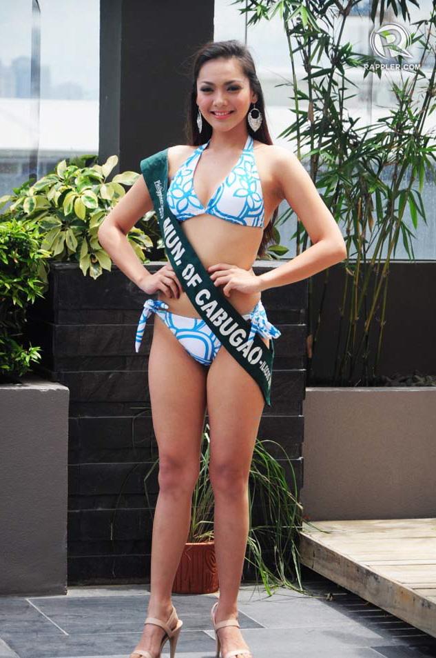 PRESS LAUNCH. Jannie Loudette Alipo-on at the pageant's press launch. Photo by Erickson dela Cruz