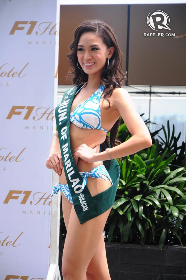 PRESS LAUNCH. Caneille Faith Santos at the pageant's press launch. Photo by Erickson dela Cruz