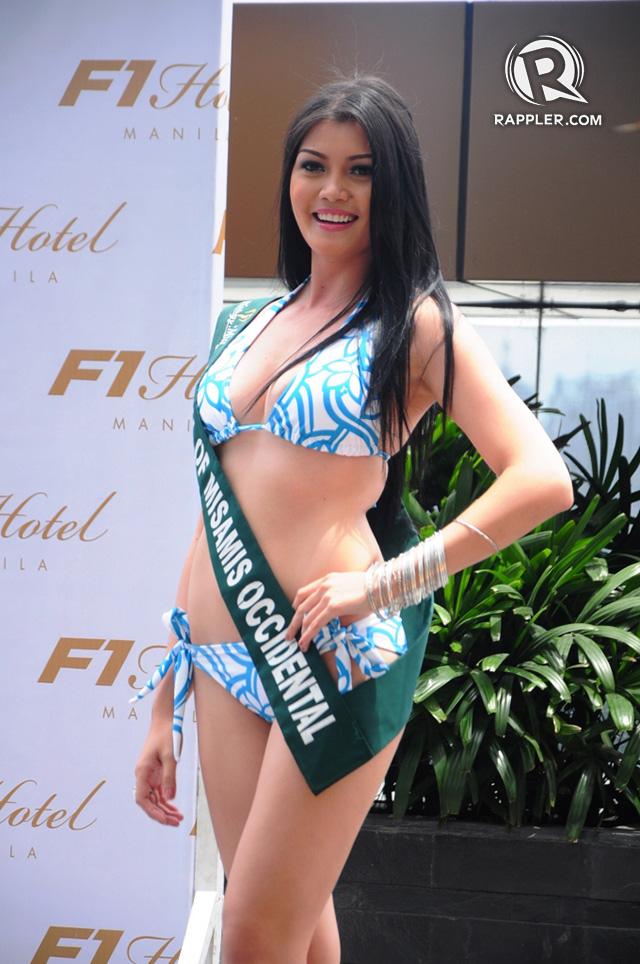 PRESS LAUNCH. Kristel Suizo at the pageant's press launch. Photo by Erickson dela Cruz