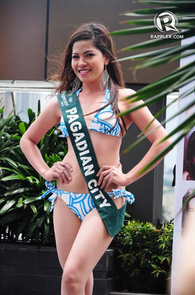 PRESS LAUNCH. Mevelyn Villamor at the pageant's press launch. Photo by Erickson dela Cruz