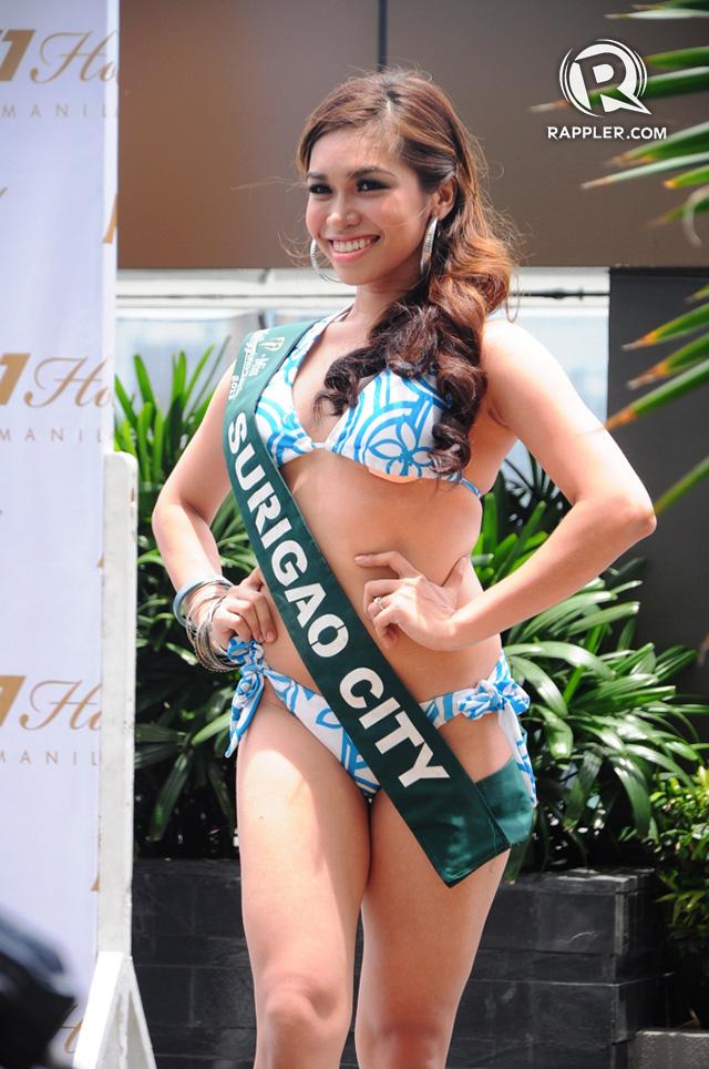 PRESS LAUNCH. Joanna Jane Janson at the pageant's press launch. Photo by Erickson dela Cruz