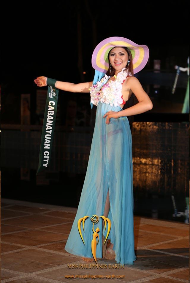 RESORTWEAR COMPETITION. Dianne Mae Jamero at the resortwear competition on April 12 at Hotel Pontefino u0026 Residences, Batangas. Photo courtesy of Carousel Productions