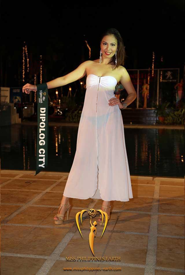 RESORTWEAR COMPETITION. Liza Rose Dancalan at the resortwear competition on April 12 at Hotel Pontefino u0026 Residences, Batangas. Photo courtesy of Carousel Productions