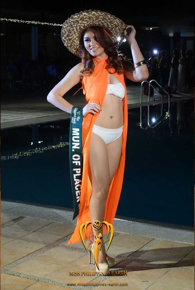 RESORTWEAR COMPETITION. Nickylyn Cardoza at the resortwear competition on April 12 at Hotel Pontefino u0026 Residences, Batangas. Photo courtesy of Carousel Productions