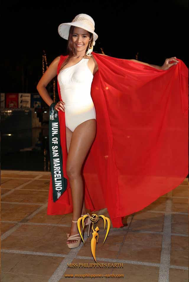 RESORTWEAR COMPETITION. Janine Asanion at the resortwear competition on April 12 at Hotel Pontefino u0026 Residences, Batangas. Photo courtesy of Carousel Productions