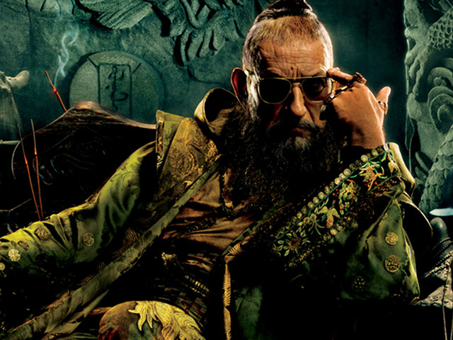 HOW EVIL IS HE? Ben Kingsley's Mandarin isn't anything like you've read in the comics. Watch the film and find out why.
