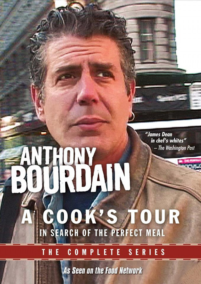 FOR THE FOODIE TRAVELER. Make the most out of your summer trips with this book from Anthony Bourdain. Cover photo from the 'Anthony Bourdain: A Cook's Tour' Facebook page