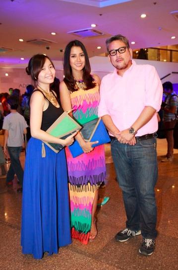 THREE GOOD PEOPLE. Reese Fernandez-Ruiz, Bianca Gonzalez, and Rajo Laurel