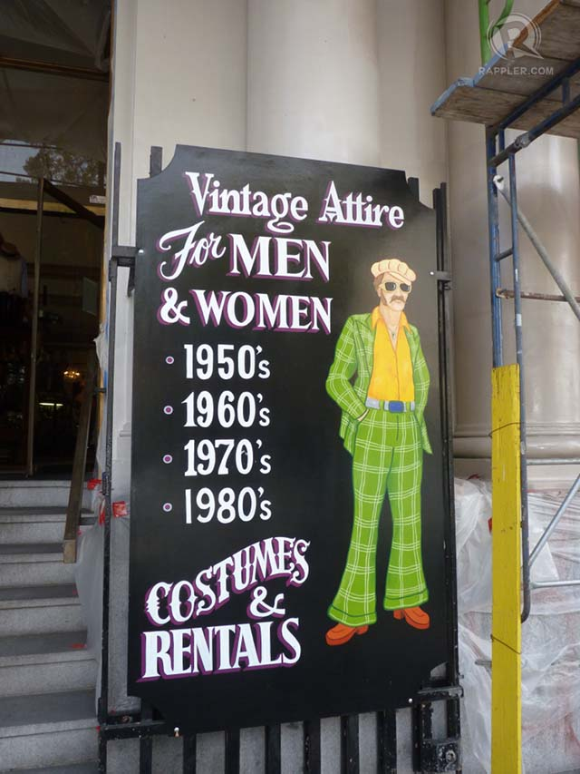 VINTAGE TOWN. You can dress up for the era you love in San Francisco