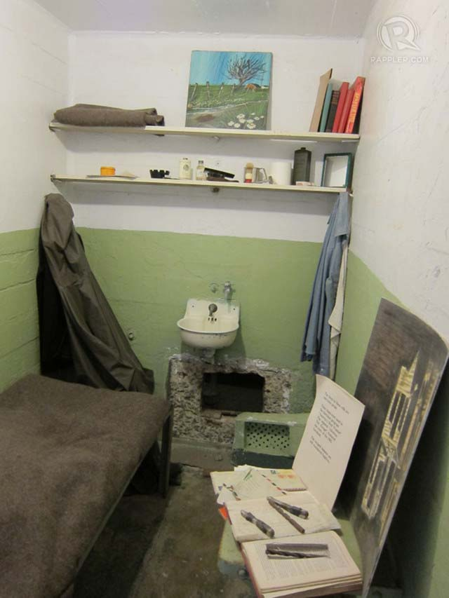 JAIL TIME. This is a room in Alcatraz