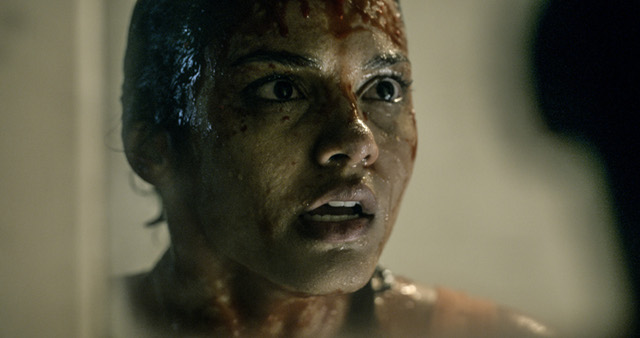LOOKING NOT-SO-GOOD. Jessica Lucas is a pretty sight, until something u2018Evilu2019 comes her way