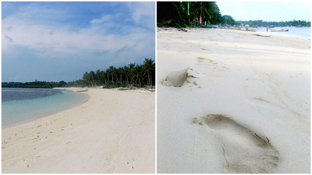 UNSPOILED BORACAY. Aside from being isolated, Sibato Island has sugar-white and powdery fine sand. Photo by Marcos Caratao