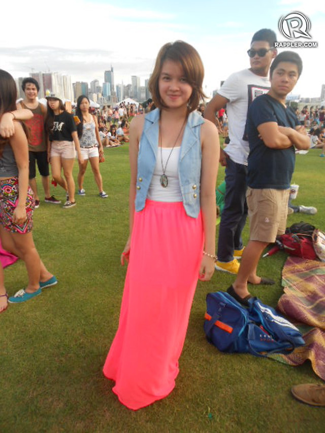 NEON GLOW. Myx Sebastian and several other Wanderland residents join the neon revolution
