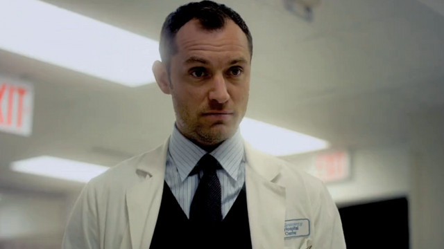 WHATu2019S UP, DOC? Jude Law plays a physician who gets a dose of his own bad medicine