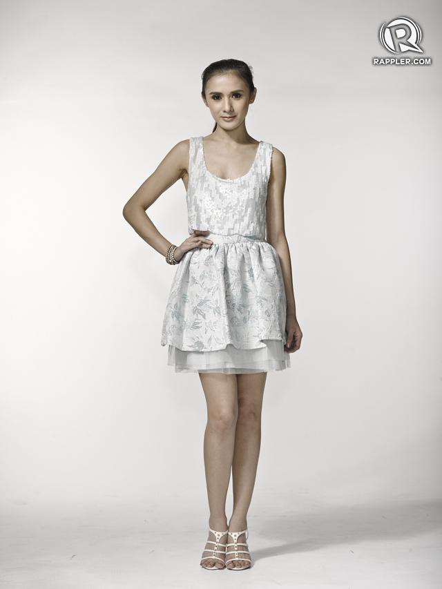 Dress, Ever New. Skirt, Miss Selfridge. Heels, Dumond. Accessories, Parfois.