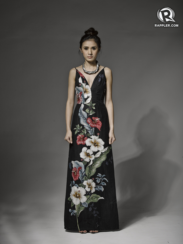 Dress, Eric Delos Santos. Heels, Zara. Necklace, Parfois.