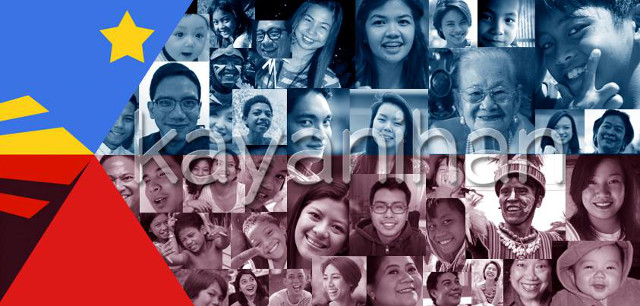THE KAYANIHAN PROJECT. Uniting the nation through music. All photos from The Kayanihan Project Facebook page