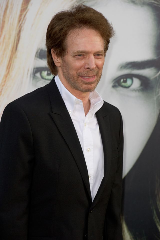 THE MAN BEHIND THE PIRATES. Jerry Bruckheimer at the premiere of 'Dark Shadows' in May 2012