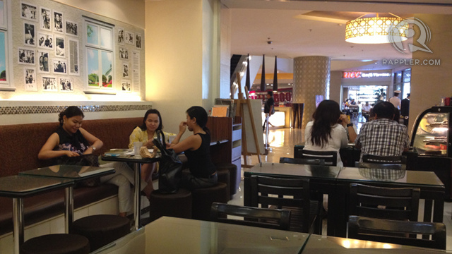 GREAT FOR CONVERSATIONS. Parvati's cozy space is the only branch in the Philippines as of writing