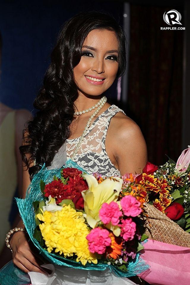 FILIPINA BEAUTY. Mutya Datul at her send-off party last August 13 at Gloria Maris, Gateway Mall, Cubao. Photo by Jory Rivera/OPMB