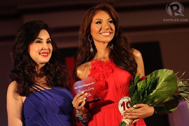 #19 Maria Paula Bianca Paz - Miss World Heart