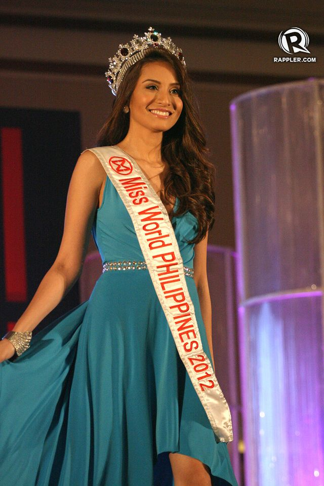 WHO IS THE NEXT QUEEN? Reigning Miss World Philippines Queenierich Rehman will pass on her crown to one lucky lady on August 18. Photo by Manman Dejeto