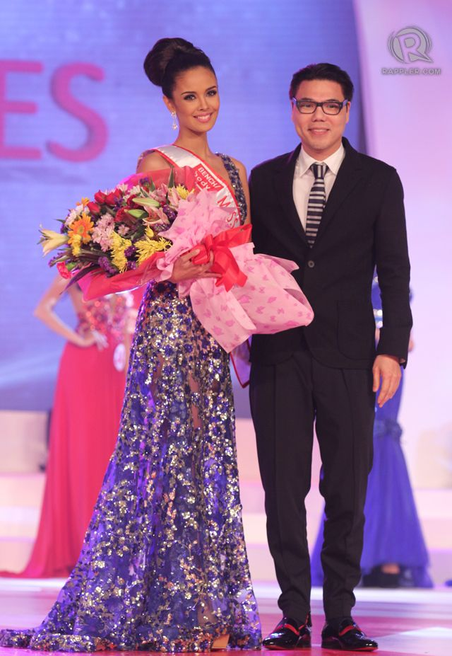 Miss Bench Body: #20, Megan Young with Miguel Pastor