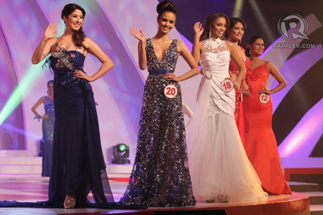 Top 13 members (from left) #5, Zahra Saldua; #20, Megan Young; #18 Omarie Linn Osuna; #12, Angelica Lopez