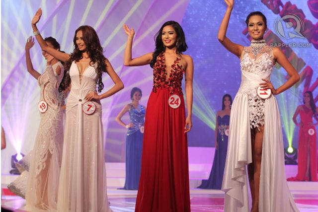 Top 13 members (from left) #19, Bianca Paz; #7, Samantha Mae Bernardo; #24, Zandra Flores; #11, Mercegrace Raquel