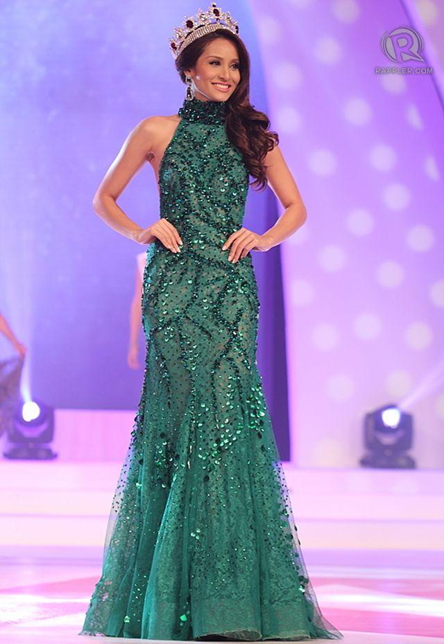 Miss World Philippines 2012 Queenierich Rehman takes her final walk