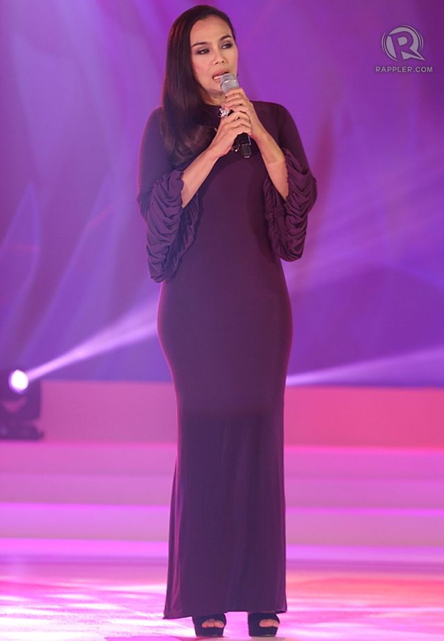 Singer Kuh Ledesma performs