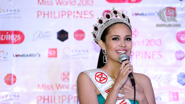 HASN'T SUNK IN. Megan recalls what her first weeks of being Miss World Philippines 2013 have been like