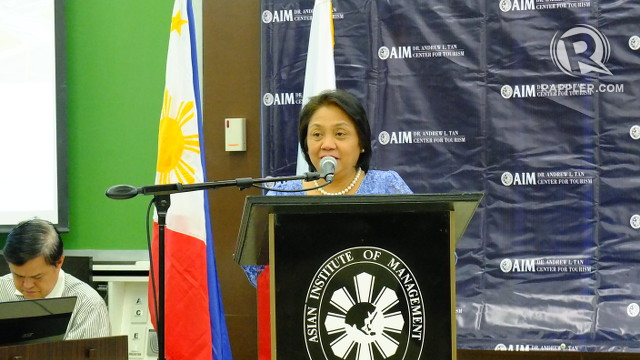 CARING FOR OUR PARKS. NPDC Director Juliet Villegas encourages Filipinos to visit Luneta Park and enjoy the recent renovations