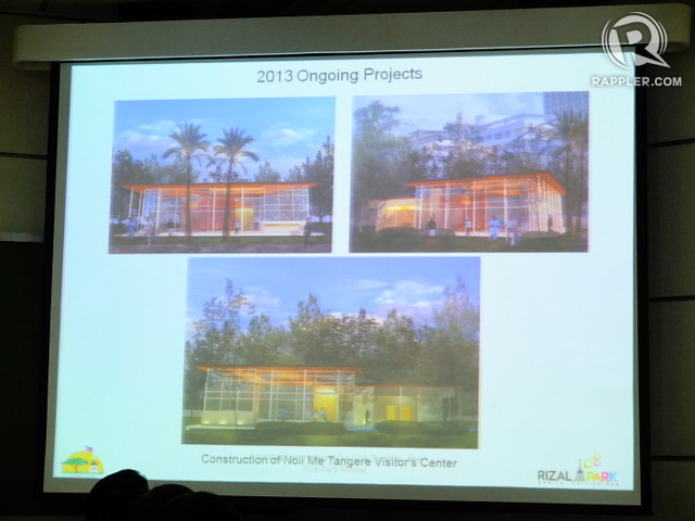 TOURIST HUB. The Noli Me Tangere Visitor's Center will soon be receiving guests curious about Luneta Park