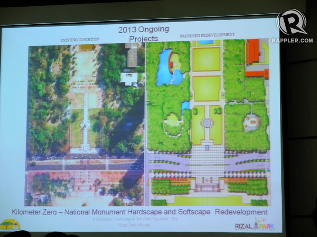 MORE GREEN. Villegas says NPDC was able to add 20 more hectares of greenery to Luneta Park