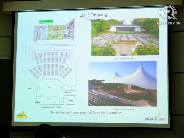 AMPED UP AMPHITHEATER. A canopy will be added to the open-air auditorium designed by Leandro Locsin